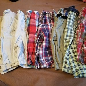8 Pairs of Boys Size 5T Shorts! OshKosh, Gymboree